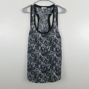 Joie Racerback Tank Top Black